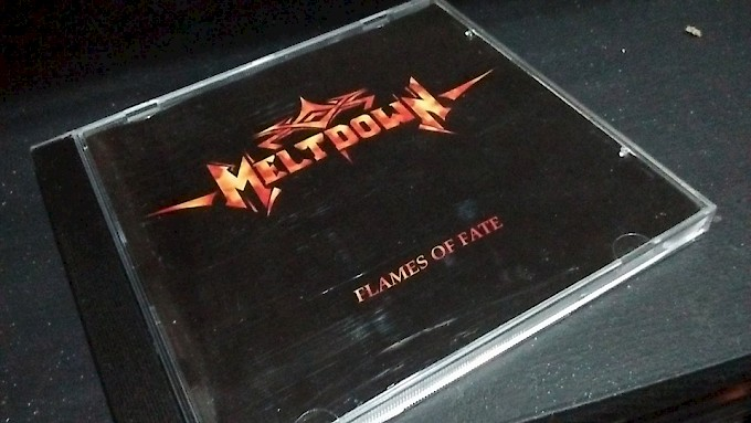 MELTDOWN / Flames Of Fate [Mega-Rarity!]