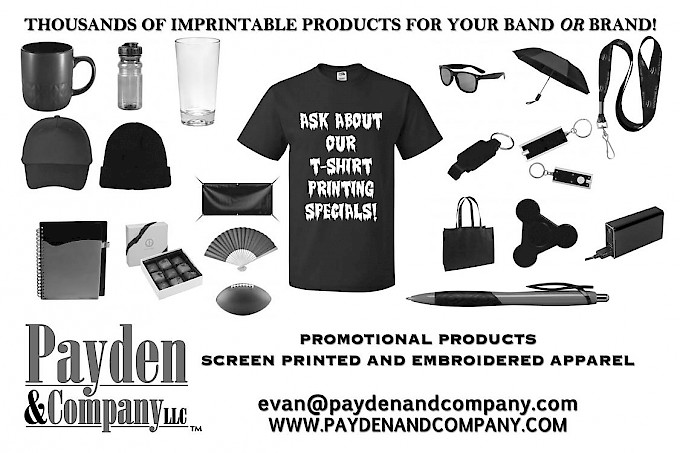 Promotional items to your Band